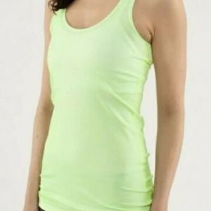 Lululemon Faded Zap Petit Dot Cool Racerback 6